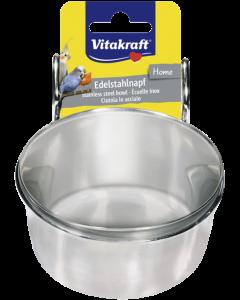 Produktbild: Metallnapf mit Halter, 300 ml
