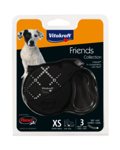 Produktbild: Leine flexi® Friends Collection, XS, anthrazit