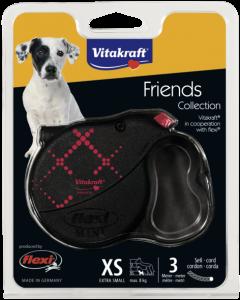 Produktbild: Leine flexi® Friends Collection, XS, rot