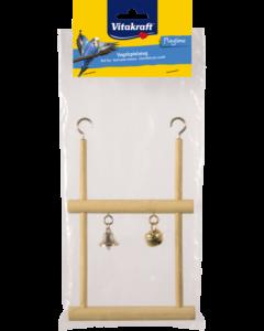 Produktbild: Doppel-Trapezschaukel mit Schelle