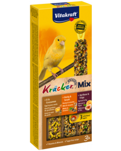 Produktbild: Kräcker® Mix + Ei / Frucht / Honig