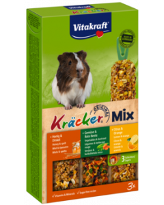 Produktbild: Kräcker® Mix + Citrus / Gemüse / Honig