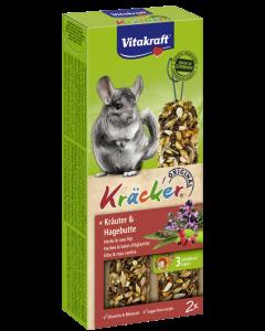 Produktbild: Kräcker® + Kräuter & Hagebutte
