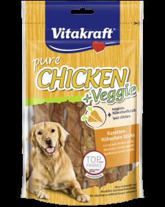 Produktbild: CHICKEN + Veggie, Karotten-Hühnchen-Sticks