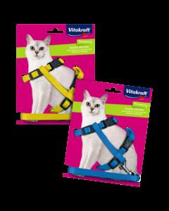 Produktbild: Katzengeschirr mit Leine, 22-42 cm, M