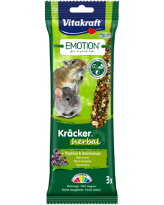 Produktbild: Emotion® Kräcker® herbal + Thymian & Brennnessel