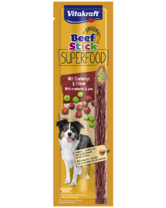 Produktbild: Beef Stick® Superfood mit Cranberrys und Erbsen