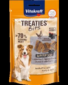 Produktbild: Treaties® Bits Superfood + Hühnchen & Holunder