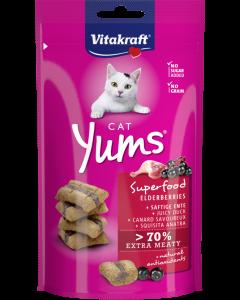 Produktbild: Cat Yums® Superfood Holunder + Ente