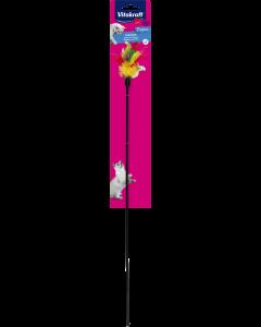 Produktbild: Plastikstab mit Federn