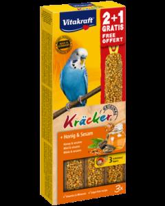 Produktbild: Kräcker® + Honig & Sesam 2+1