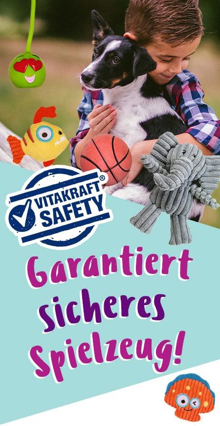 Garantiert sicheres Hundespielzeug