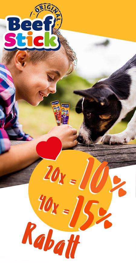 Gutscheine für Hunde Beef Stick®  von Vitakraft