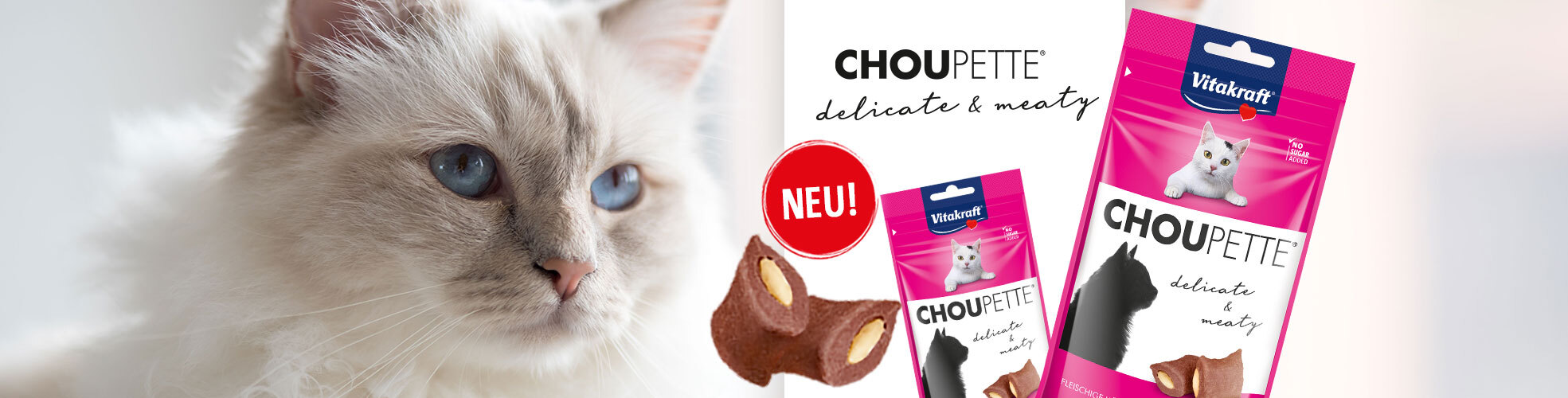 Neu: Choupette® – nicht nur für VIP Katzen