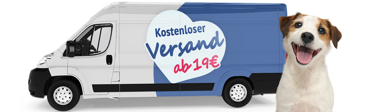 Versandkosten frei ab 19 Euro Bestellwert